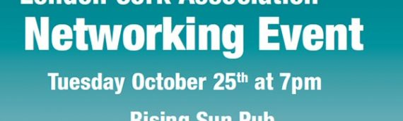 Networking Event – October 25th
